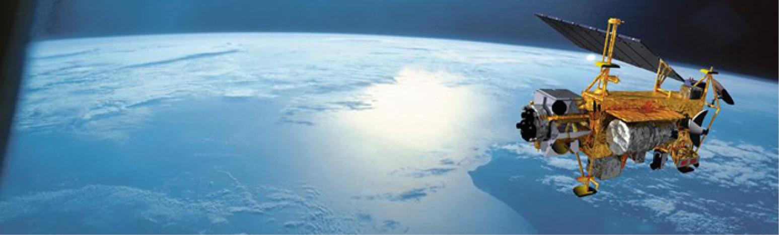 WINDII Satellite above Earth