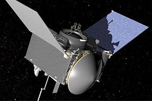artist's rendering of a satellite in space